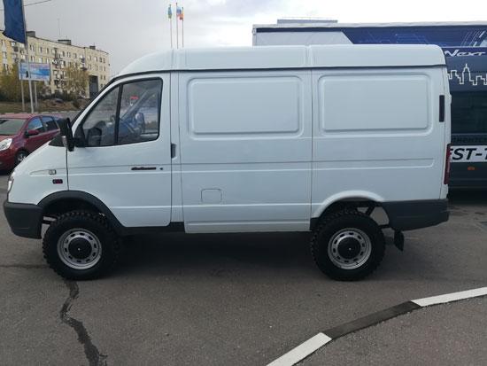 Выдали клиенту ГАЗ 27527 Соболь 4х4