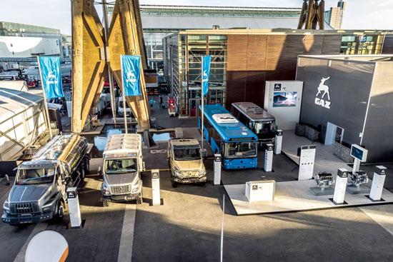 Международная выставка коммерческого транспорта