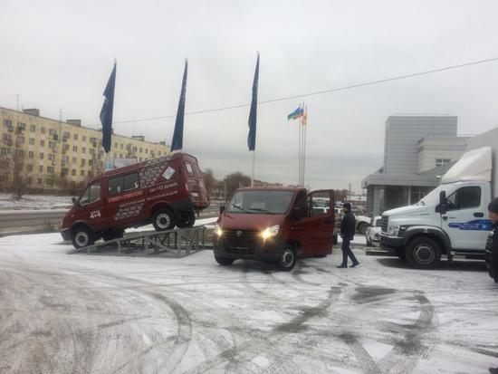 Выдали Клиенту ГАЗ-А21R22, ГАЗель Next c Дизельным двигателем Cummins