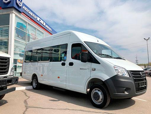 Выдали клиенту ГАЗ-A65R52 - новый 22-ух местный автобус на базе ГАЗели Next 4.6