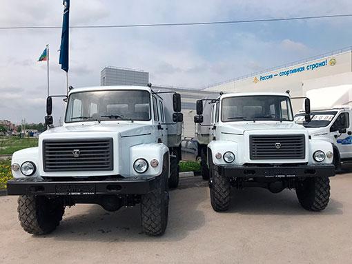 Выдали 2 полноприводных егеря на базе ГАЗ-33088