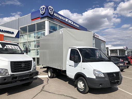 Выдали клиенту Европлатформу на базе ГАЗ - 3302.