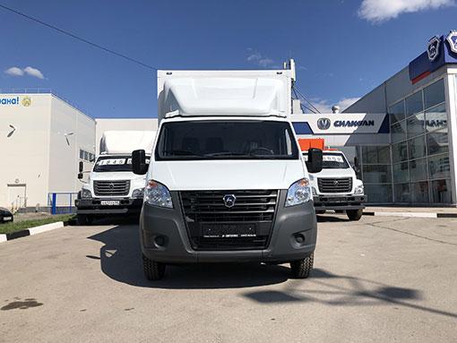 Выдали клиенту изотермический фургон на базе ГАЗ А21R22 «ГАЗель NEXT»