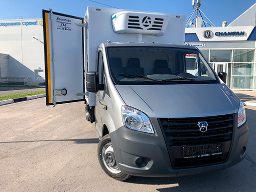 Выдали фургон-рефрижераторна базе ГАЗ-А21R36-80