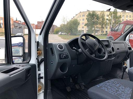 Выдали сэндвич-фургон на базе ГАЗели Next с ГБО метан!