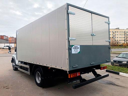 Выдали автомобиль для перевозки скота на базе ГАЗ-С41R13